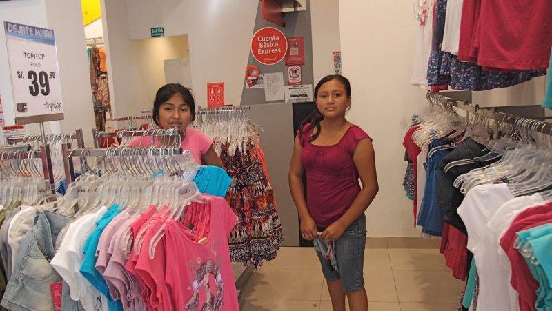 Weihnachten 2011 Einkauf für die Mädchen