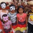 Weihnachtsfeier 2011 mit Maskenkindern